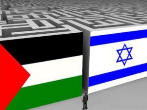 Israel Palestina doolhof